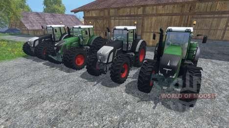 Fendt 936 Vario v1.1 para Farming Simulator 2015