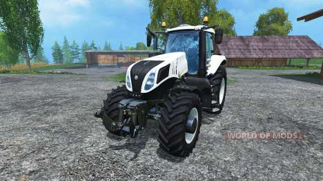 New Holland T8.435 v1.1 para Farming Simulator 2015