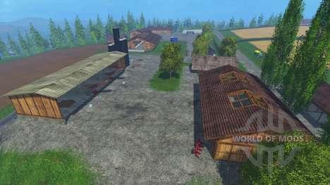 Ubicación Bornholm - v1.1 para Farming Simulator 2015