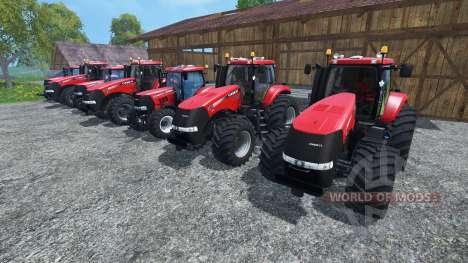 Los sonidos de los motores de los tractores Case para Farming Simulator 2015