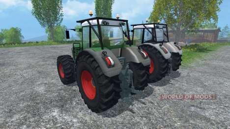 Fendt 936 Vario Forst Edition para Farming Simulator 2015