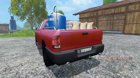 Dodge Ram Service para Farming Simulator 2015