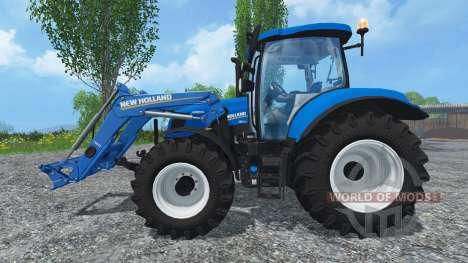 New Holland T6.160 Ohne Glanz para Farming Simulator 2015