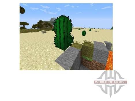 Mejor Hojas y la Hierba para Minecraft