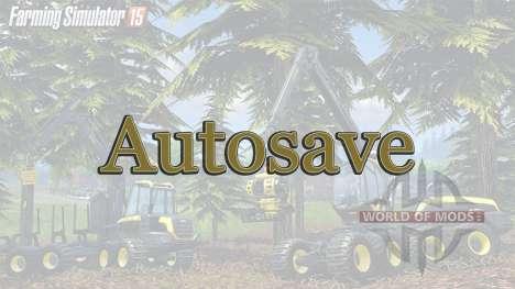 AutoSave para Farming Simulator 2015