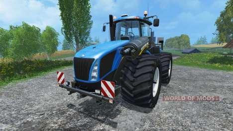 New Holland T9.560 wide tires para Farming Simulator 2015