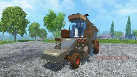 Azúcar de remolacha cosechadoras KS-6B suciedad para Farming Simulator 2015