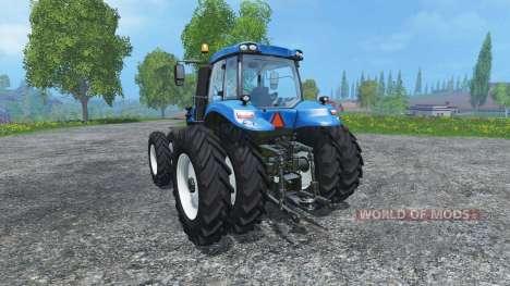 New Holland T8.320 dualrow para Farming Simulator 2015
