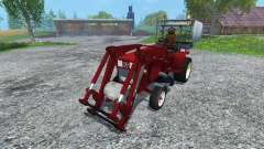 Hoftraktor HT13E FL clean