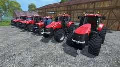 Los sonidos de los motores de los tractores Case