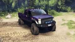 Ford F-350 Super Duty 6.8 2008 v0.1.0 purple para Spin Tires