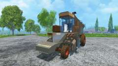 Azúcar de remolacha cosechadoras KS-6B suciedad