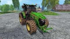 John Deere 7930 dirt para Farming Simulator 2015