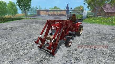 Hoftraktor HT13E FL dirt para Farming Simulator 2015