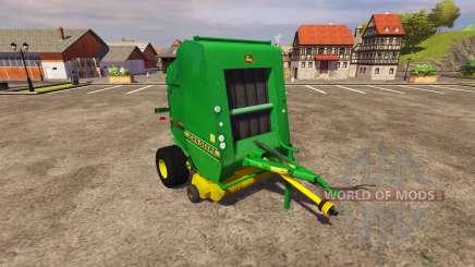 Empacadora John Deere 590 v2.0 para Farming Simulator 2013