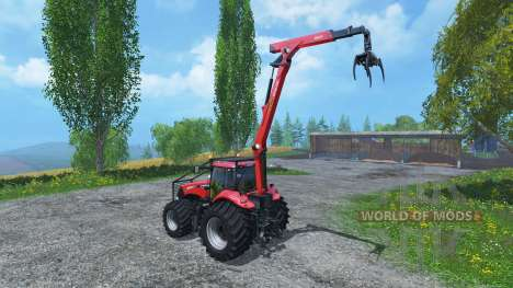 Case IH Magnum CVX 380 Forst v3.1 para Farming Simulator 2015
