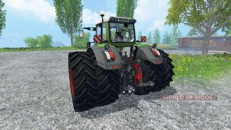 Fendt 828 Vario Twin Wheels para Farming Simulator 2015