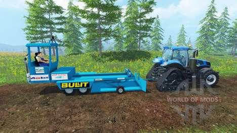 Brake Trailer para Farming Simulator 2015