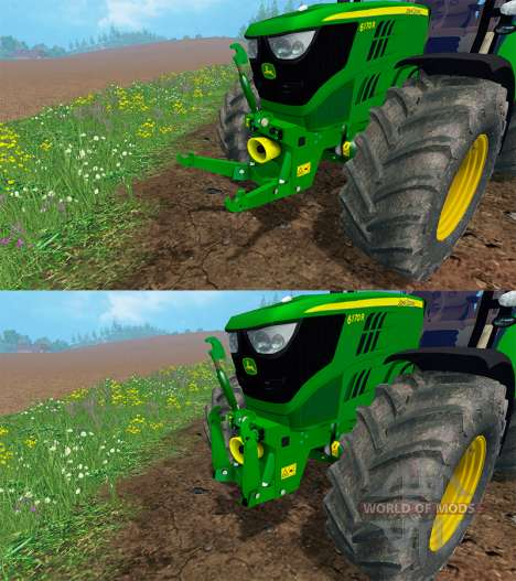 John Deere 6170R para Farming Simulator 2015