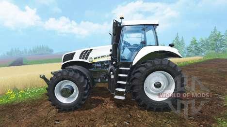 New Holland T8.435 Ultra White v1.31 para Farming Simulator 2015