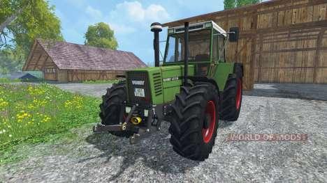 Fendt Favorit 615 LSA Turbomatik v4.0 para Farming Simulator 2015