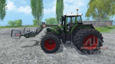 Fendt 820 Vario FL para Farming Simulator 2015