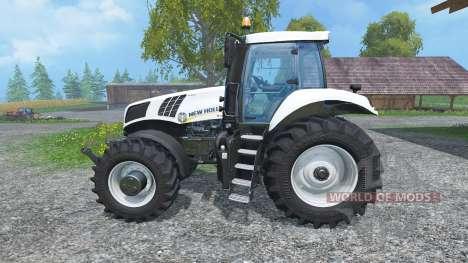 New Holland T8.435 Ultra White v1.3 para Farming Simulator 2015