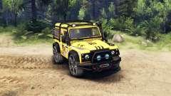 Land Rover Defender 90 v2.0 para Spin Tires