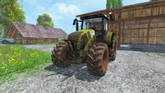 CLAAS Axion 820 v4.0 dirt para Farming Simulator 2015