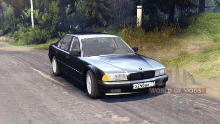 BMW 750Li E38 para Spin Tires