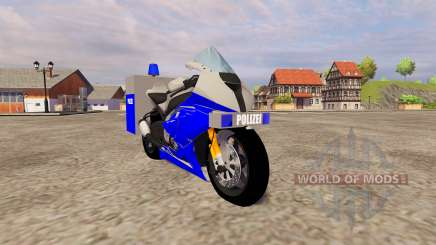 BMW Polizei para Farming Simulator 2013
