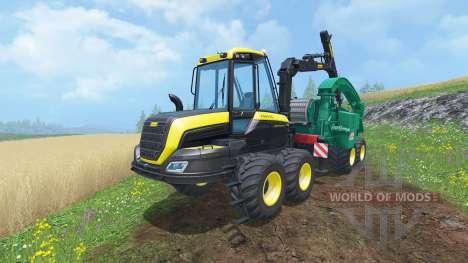 PONSSE Buffalo Wood Chipper para Farming Simulator 2015