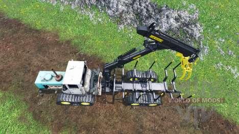 Т-150 buffalo para Farming Simulator 2015