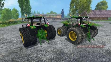 John Deere 6170R and 6210R para Farming Simulator 2015
