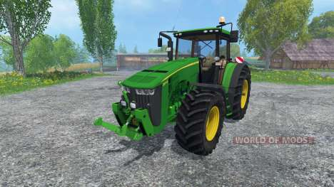 John Deere 8370R v2.0 para Farming Simulator 2015