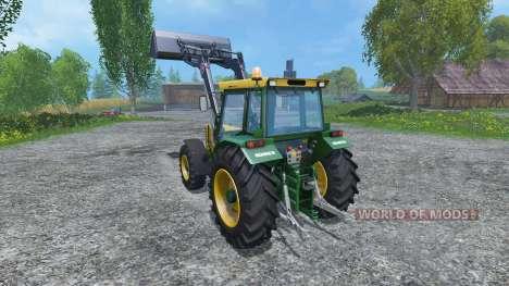 Buhrer 6135A FL para Farming Simulator 2015