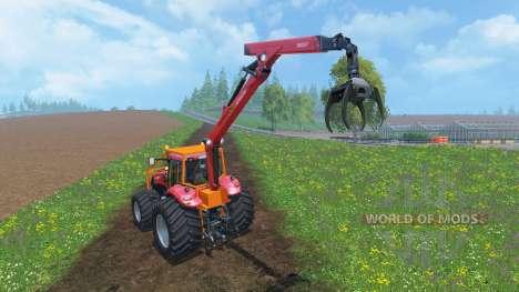 Case IH Magnum CVX 380 Forestry v2.0 para Farming Simulator 2015
