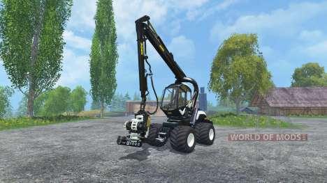 PONSSE Scorpion 4WD EcoLog Cutter v2.0 para Farming Simulator 2015