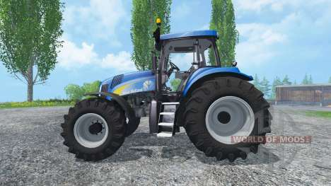 New Holland T8020 Maulwurf Edition para Farming Simulator 2015