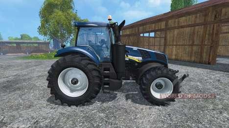 New Holland T8.435 v2.3 para Farming Simulator 2015