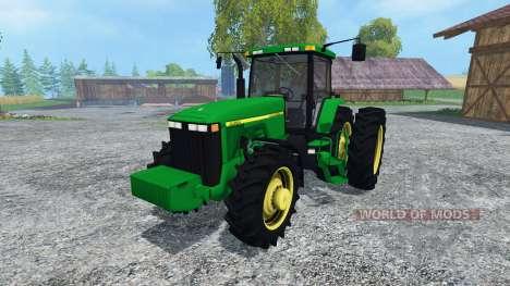 John Deere 8400 v3.0 para Farming Simulator 2015