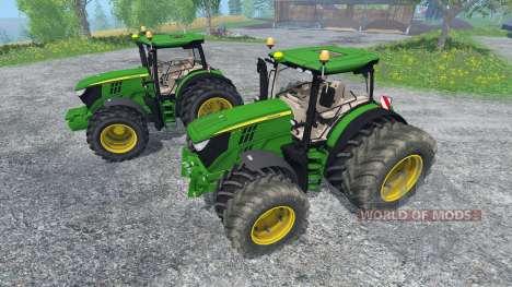 John Deere 6170R and 6210R v2.0 para Farming Simulator 2015