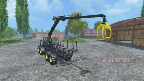 John Deere 1510E IT4 para Farming Simulator 2015
