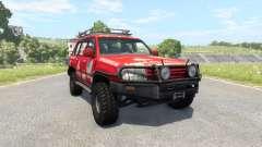 Toyota Land Cruiser 100 v2.0 para BeamNG Drive