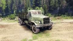 Kraz-257 PJ1 para Spin Tires