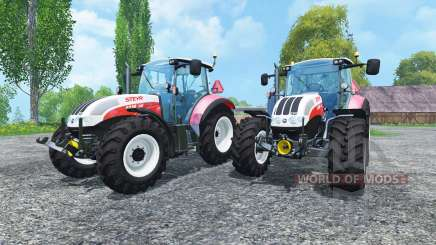 Steyr CVT 6230 Pack v1.4 para Farming Simulator 2015