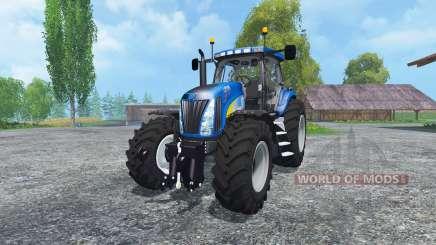 New Holland T8020 Maulwurf Edition para Farming Simulator 2015
