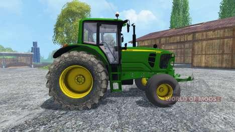 John Deere 6130 2WD v2.0 para Farming Simulator 2015