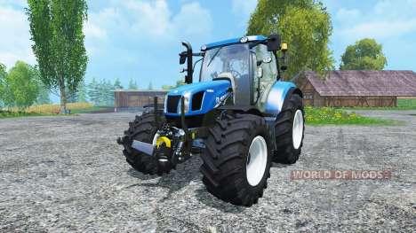 New Holland T6.160 BluePower para Farming Simulator 2015