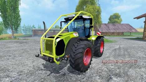 CLAAS Xerion 5000 Arceau Forestierf para Farming Simulator 2015